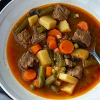 Low Carb Vegetable Beef Soup