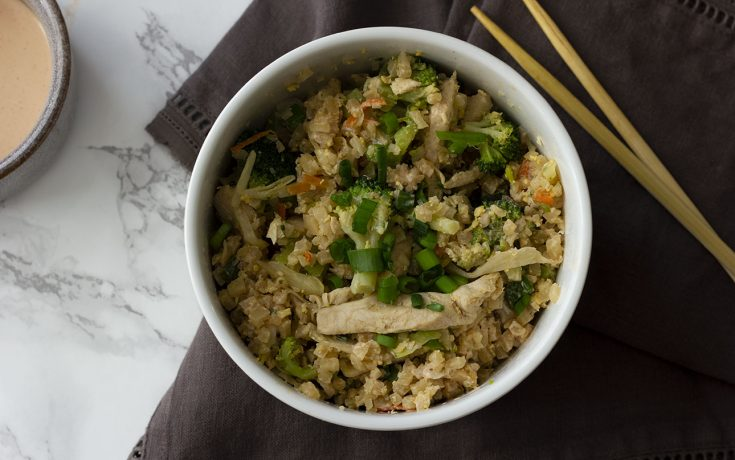 Keto Fried Cauliflower Rice