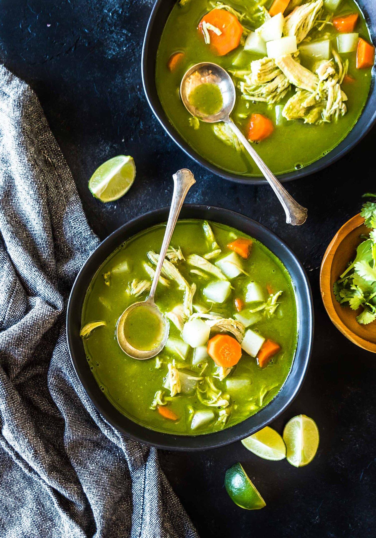 Keto Peruvian Chicken Soup